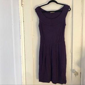 Anthropologie Plum Jersey Pencil Dress